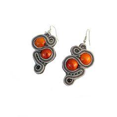#kolczyki #sutasz na DaWanda.com Swarovski, Drop Earrings, Etsy, Jewelry, Fashion, Moda, Jewlery, Jewerly, Fashion Styles