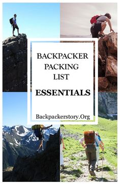 The Backpacker packing list for backpackers. Packing for your first backpacking trip can be tough. Use this complete backpacker packing guide. Vacation Packing Checklist, Backpacking Checklist, Packing Tips, Image Fashion, Packing Supplies, Thailand, Book Corners, Group Travel, Travel Articles