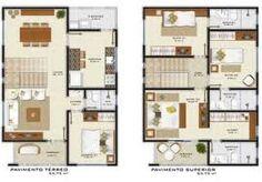 casa dois pavimentos - Pesquisa Google