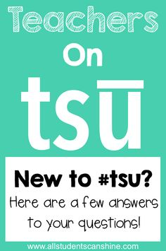 Teachers On Tsu - Questions Answered!