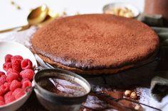 Chocolate, Hazelnut & Vino Cotto Tart with Gluten Free Pastry