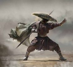 Asian martial arts inspired art, illustration, and digital paintings 朧月象ヲ也 Oboro Tsukiyou o Nari