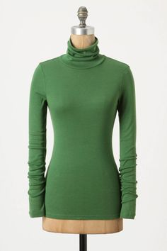 green turtleneck - anthro