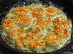 Fácil Shrimp Scampi (Camarón mantequilla de ajo))