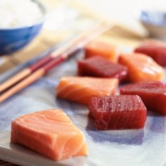 Trim Tips Thursday: This is for sushi-lovers. Did you know that not ALL sushi is low-fat and healthy? Here are some tips from @SHAPE magazine on how to order sushi the right way if you're trying to lose weight.
