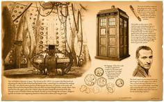 Steampunk Dr. Who Tardis