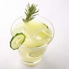 Drink the Book: Honeydew Cucumber Shake with Cucumber Granita | Recipe