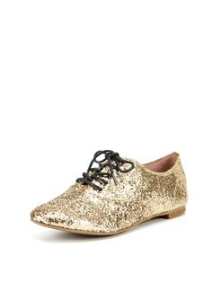 Golden oxfords! (Selina Oxford by Vince Camuto Shoes at Gilt)