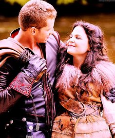 Once Upon a Time: Snow White and Prince Charming... LOVE them