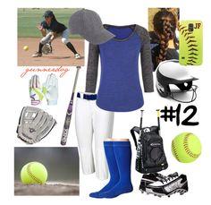 """Softball Practice"" by gunnerdog on Polyvore"