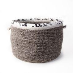 Rebecca Atwood Wool & Linen Basket