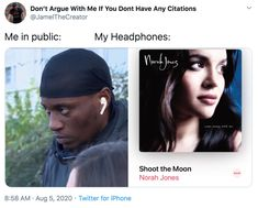 norah jones Funny Tweets, Funny Memes, Norah Jones, Shoot The Moon, Pop Songs, Know Your Meme, Trending Memes, Rapper, Public