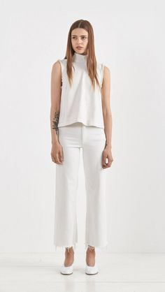 Rachel Comey Legion in Dirty White  | The Dreslyn