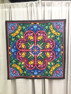 Stunning appliqué art from the Tentmakers of Cairo. See this and more on exhibit and for sale.