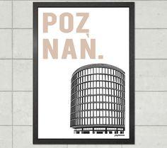 Poznań | Okrąglak - plakat A3 - papierove - Wydruki cyfrowe