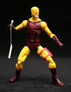 Marvel Legends Nemesis Series Daredevil // Pinned by: Marvelicious Toys - The Marvel Universe Toy & Collectibles Podcast [ m a r v e l i c i o u s t o y s . c o m ]