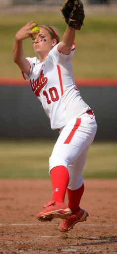 (Leah Hogsten  |  The Salt Lake Tribune)  Utah relief pitcher Sammy Cordova. The University of Utah softball team was defeated during their home debut, Saturday, by Oregon, 4-2, March 21, 2015 .