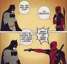 Batman vs Deadpool!!!