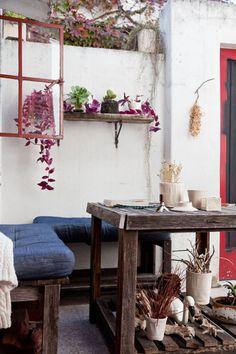 Josefina. PH alquilado de dos ambientes con patio, terraza y taller en Palermo, Ciudad de Buenos Aires.