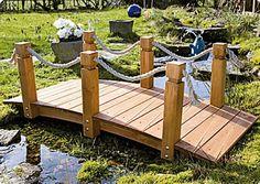 Das Highlight für Ihren Garten - Brücke mit Handlauf: Amazon.de: Garten http://amzn.to/2py9djW