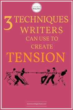 Learn how to use mystery, suspense, and dramatic irony to create tension. | stormwritingschool.com