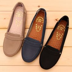 BN Womens Comfy Soft Casual Walking Work Flats Shoes Loafers Moccasins Oxfords #Handmade #LoafersMoccasins #Casual
