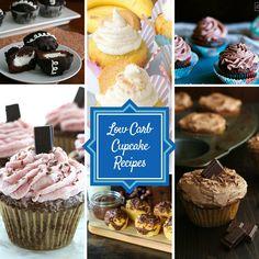 24 Sugar-Free, Low-Carb Cupcakes