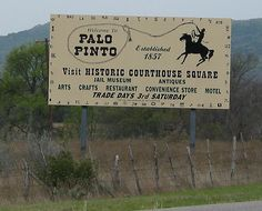 New Palo Pinto Sign!