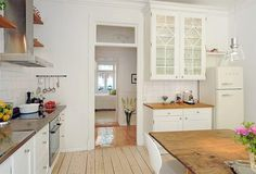 white kitchen - dream kitchen