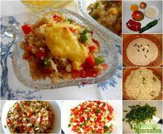 Receta de ensaladilla de quinoa con vinagreta de mango - La Cocina Alternativa