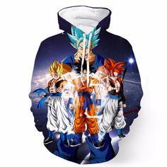 Buy Newest Anime Dragon Ball Z Super Saiyan Hooded Sweatshirts Majin Buu  Goku Vegeta Hoodies Pullovers Sportswear Hoodie Outwear at Wish - Shopping  Made Fun 93e517c45