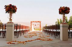 Grand Engagements Wedding | Santiago Canyon Mansion Orange County