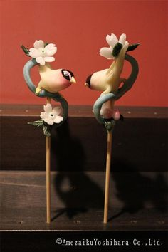 Japanese Traditional Lollipops by Amezaiku Yoshihara - Birds