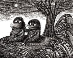As fascinantes e perturbadoras ilustrações 3D de Dain Fagerholm