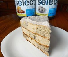 "Checkered Caramel Cookies n Cream Cake!  154 cals per slice: 15.5g protein 14.5g carbs 5g fat @iifym   Made with @pescience Cookies and Cream Select protein get your own 30% off at pescience.com with ""driven""  @kodiakcakes mix  and @epicspreads Cookies and Cream  Ingredients: 2.5 cups Kodiak Powercakes mix. 1 scoop CnC Select Protein 1 scoop Blondie Select Protein 2 large eggs 2 tbsp CnC Epic Spreads 2 tbsp Toffee Epic Spreads 2tsp stevia Topping: 3/4 cup 0% Greek Yogurt 1 scoop CnC Select…"
