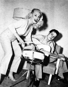 Mamie Van Doren & Eddie Cochran