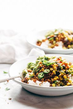 Cauliflower Walnut Taco Meat - Pinch of Yum