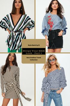 Stripes are in for spring and summer of 2018! 😍❤️ So check out our favourites from the Stripe Your SS18 Look - Part 1 collection here - http://www.stylebankbyb.com/fashion/endless-trend-stripe-your-ss18-look-part-1 P.S. look out for part 2 of the collection on our website.