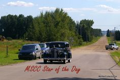 This beauty was coming off a gravel road back in August 2011 -that's why it's MSCC March 16 Star of the Day. Here's the link: http://mystarcollectorcar.com/mscc-march-13-star-of-the-da…/ #37Packard