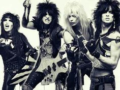Motley Crue; one of the best 80s bands ever
