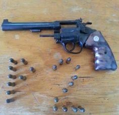 BLOG DO MARKINHOS: Polícia apreende arma de fogo e munições na comarc...