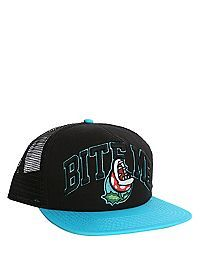 89561eae975 HOTTOPIC.COM - Nintendo Super Mario Bros. Bite Me Snapback Trucker Hat Cool  Hats