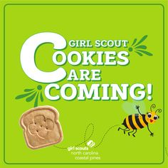 Less than a month until Girl Scouts are putting their business skills into action through the 2021 Girl Scout Cookie Program! Who is ready?