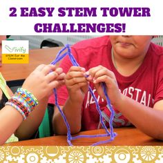 Need some quick and easy STEM challenges for your classroom? Tower challenges are great go-toSTEM activities that promote problem solving, teamwork, and communication. You can create these challenges out of almost anything: index cards, playing cards, blocks, newspaper, orplastics cups. Here are two fun tower challenges that my middle school students love! Balloon Tower Challenge …