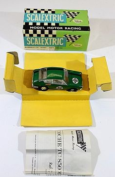 SCALEXTRIC C42 SEAT 850 COUPE 1/32 VTG SLOT CAR,NIB,SCX,STROMBECKER,AURORA,COX | Toys & Hobbies, Slot Cars, 1/32 Scale | eBay!