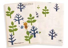 Tenderness Clear File by Japanese zakka artist Shinzi Katoh - Kimono Daisy Japanese Stationery, Filing, A4, Daisy, Artist, Kimono, Design, Home Decor, Style