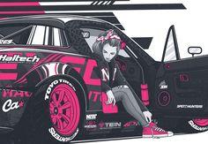 Ознакомьтесь с этим проектом @Behance: «Kate's Mazda MX-5» https://www.behance.net/gallery/31067415/Kates-Mazda-MX-5
