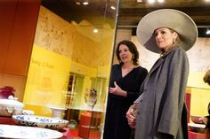 Queen Maxima of the Netherlands attends the opening of the exhibition Forbidden Porcelain - Exclusive to the emperor in Delft on April 7, 2017. The exhibition shows Chinese porcelain from the Ming Dynasty (1368-1644) that was created exclusively for the Chinese emperors. Jeroen JUMELET / ANP / AFP