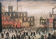 Our Town by L S Lowry 1943