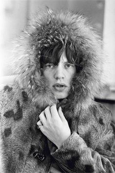 Mick Jagger nei BBC Studios Londra, 1964 81,1 x 58 cm © Terry O'Neill